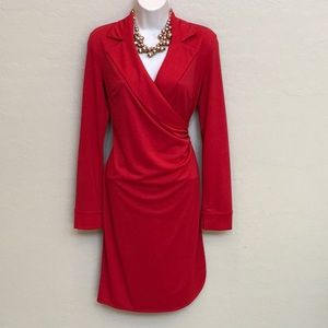 Express Red Dress Size 5/6